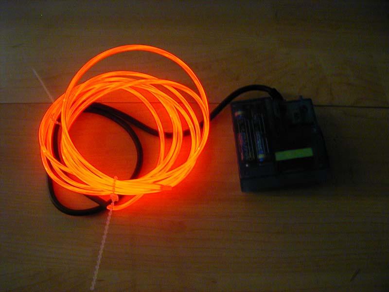 Leuchtfolie, LEDs, RGB-LED Stufenbeleuchtung ...